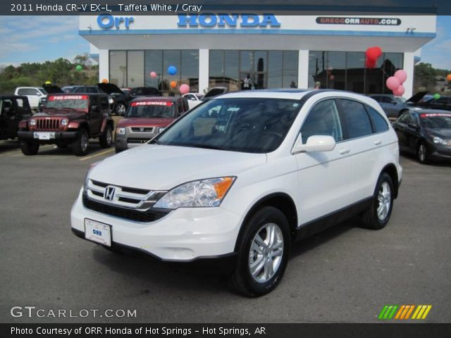 2011 Honda Cr V White