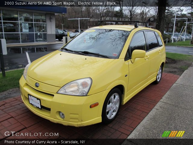 2003 Suzuki Aerio Gs Sedan In Electric Yellow Click To See Large