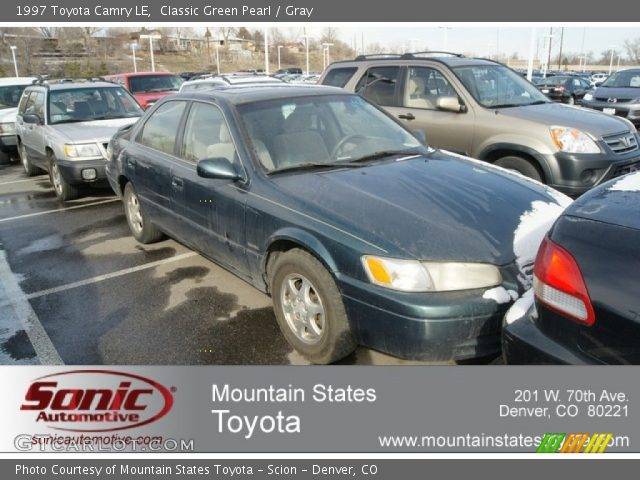 1997 Classic Green Pearl Toyota Camry Le 32053949 Modern Home