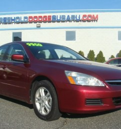 2006 accord ex l sedan redondo red pearl gray photo 1 [ 1024 x 768 Pixel ]