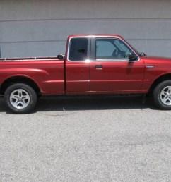 2000 b series truck b3000 se extended cab toreador red metallic gray photo [ 1024 x 768 Pixel ]
