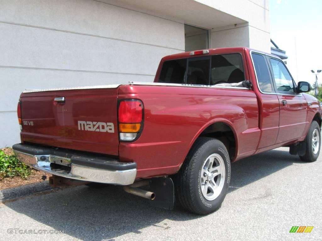 hight resolution of 2000 b series truck b3000 se extended cab toreador red metallic gray photo
