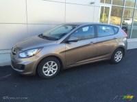2012 Mocha Bronze Hyundai Accent GS 5 Door #108972030 ...