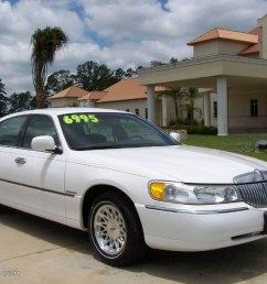 performance white lincoln town car lincoln town car signature [ 1024 x 768 Pixel ]