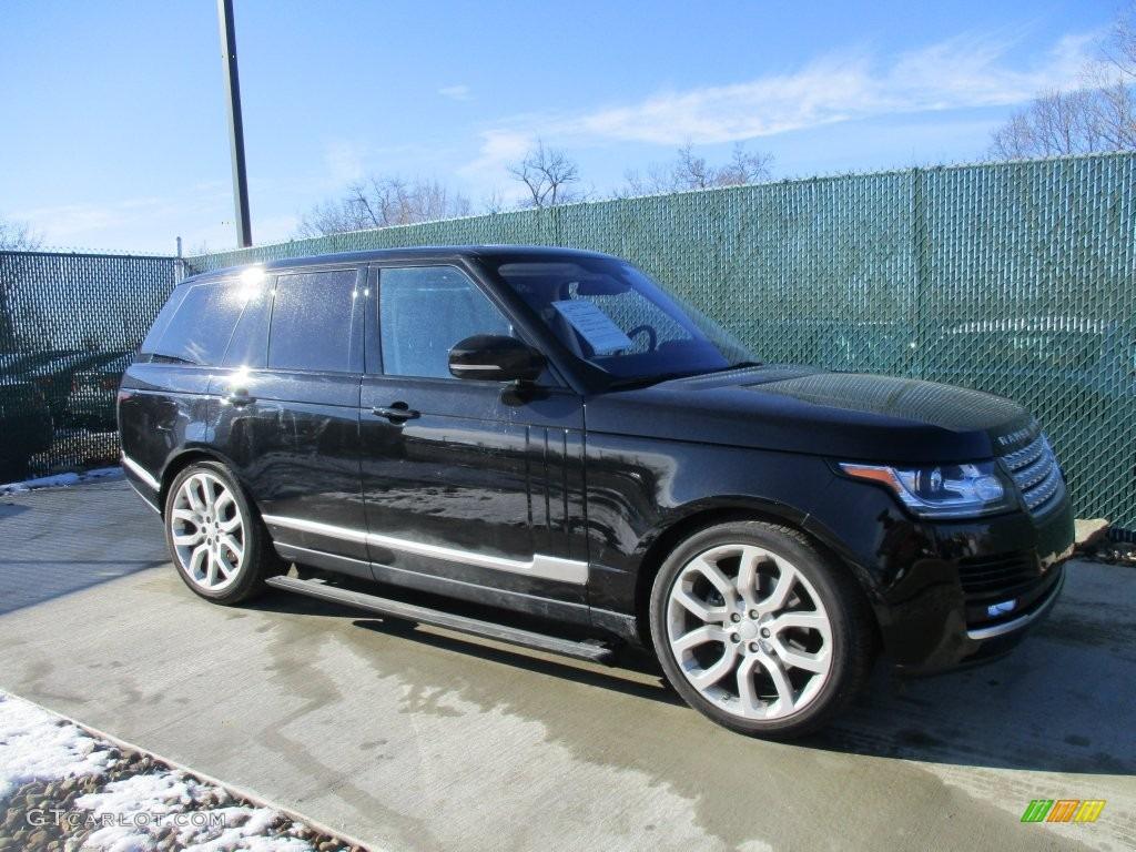 Black Range Rover 2016
