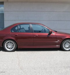 2001 5 series 530i sedan siena red metallic black photo 2 [ 1024 x 768 Pixel ]