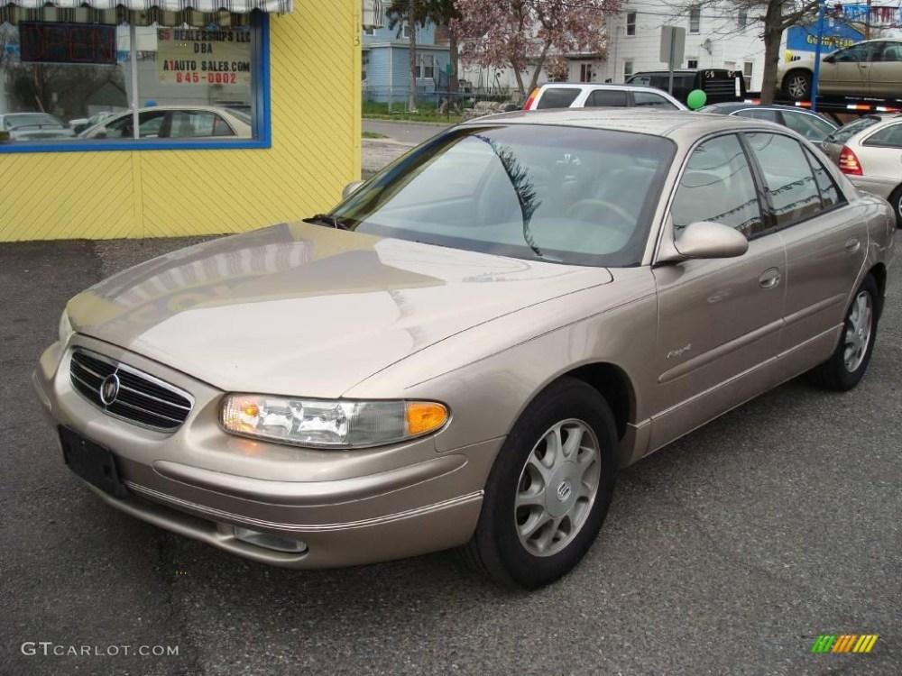 medium resolution of 1998 light sandrift metallic buick regal ls 11667568