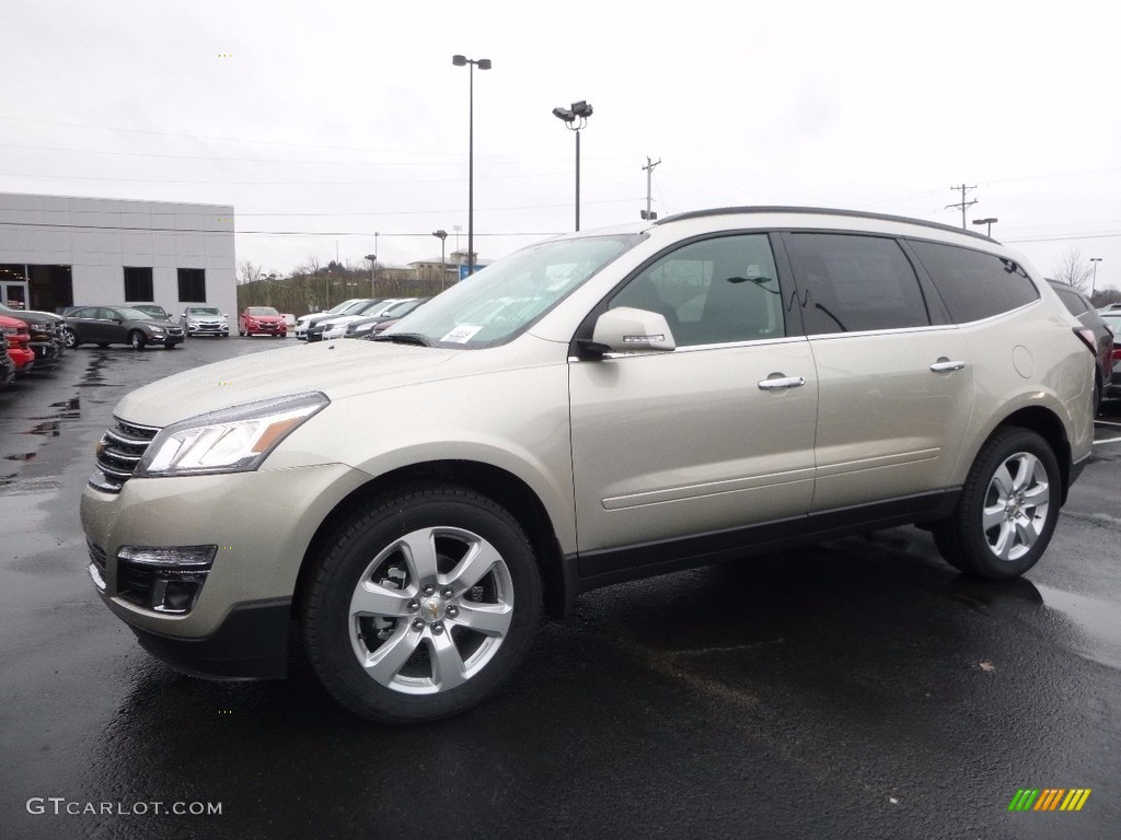 hight resolution of champagne silver metallic chevrolet traverse