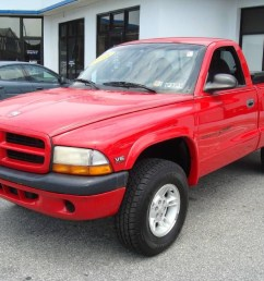1998 dakota sport regular cab 4x4 flame red agate photo 1 [ 1024 x 768 Pixel ]