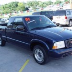 2001 Indigo Blue Metallic Gmc Sonoma Sls Extended Cab 12133423 Photo 2 Gtcarlot Com Car Color Galleries