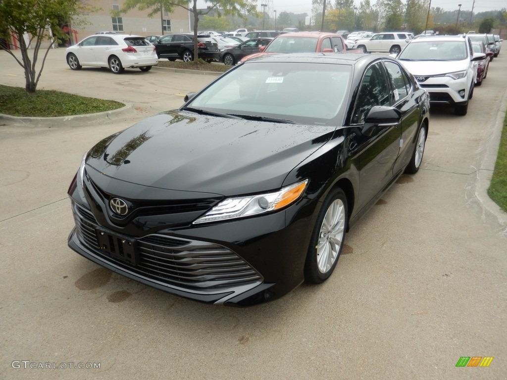 all new camry 2018 black foto mobil grand veloz midnight metallic toyota xle 123234411