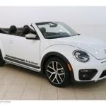 2017 Pure White Volkswagen Beetle 1 8t Dune Convertible 127378292 Gtcarlot Com Car Color Galleries