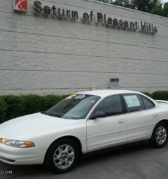ivory white oldsmobile intrigue [ 1024 x 768 Pixel ]