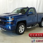 2018 Deep Ocean Blue Metallic Chevrolet Silverado 1500 Lt Regular Cab 4x4 128152176 Gtcarlot Com Car Color Galleries