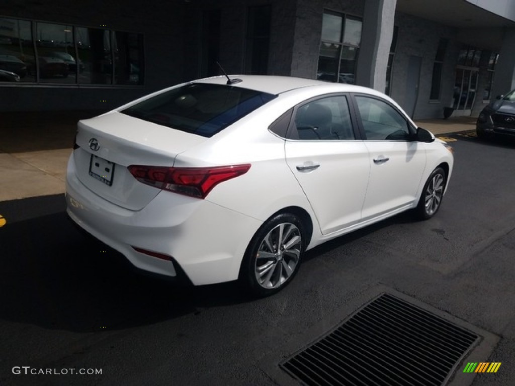 2019 Frost White Pearl Hyundai Accent Limited 129723676