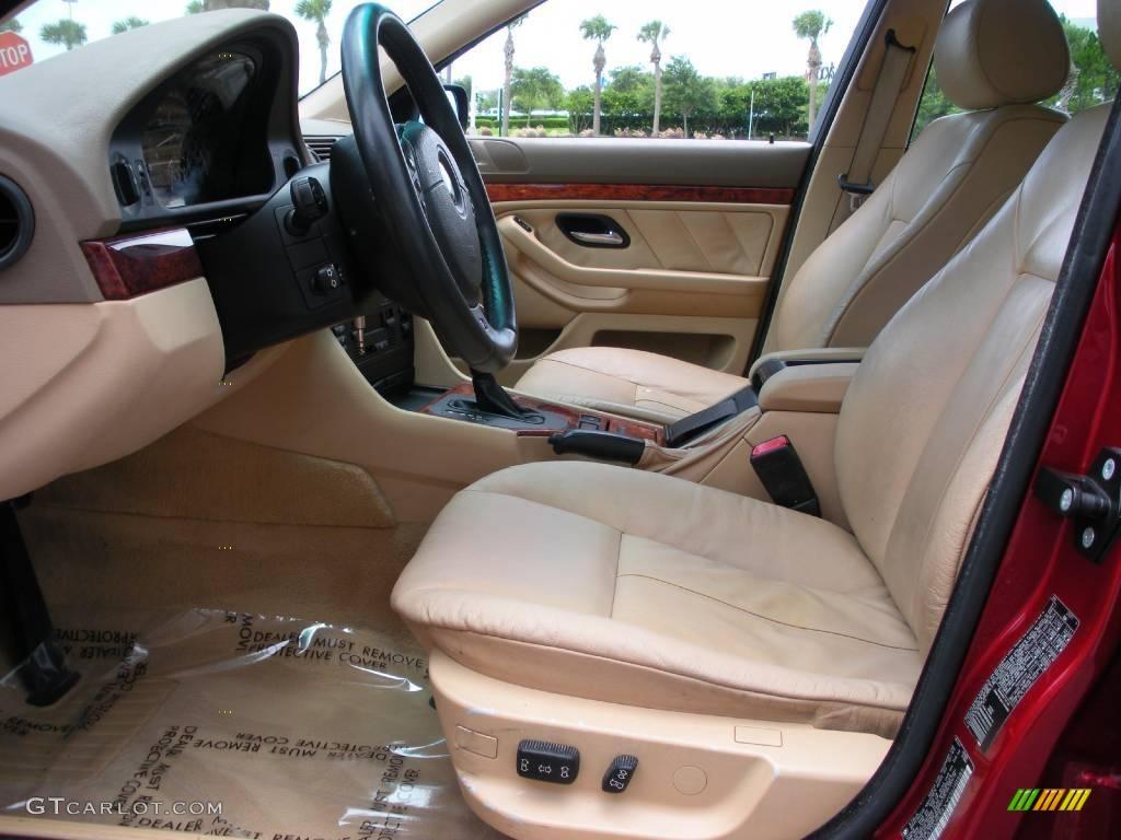 hight resolution of sand interior 2000 bmw 5 series 528i sedan photo 13037147