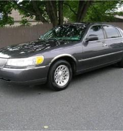 midnight grey metallic lincoln town car lincoln town car signature [ 1024 x 768 Pixel ]