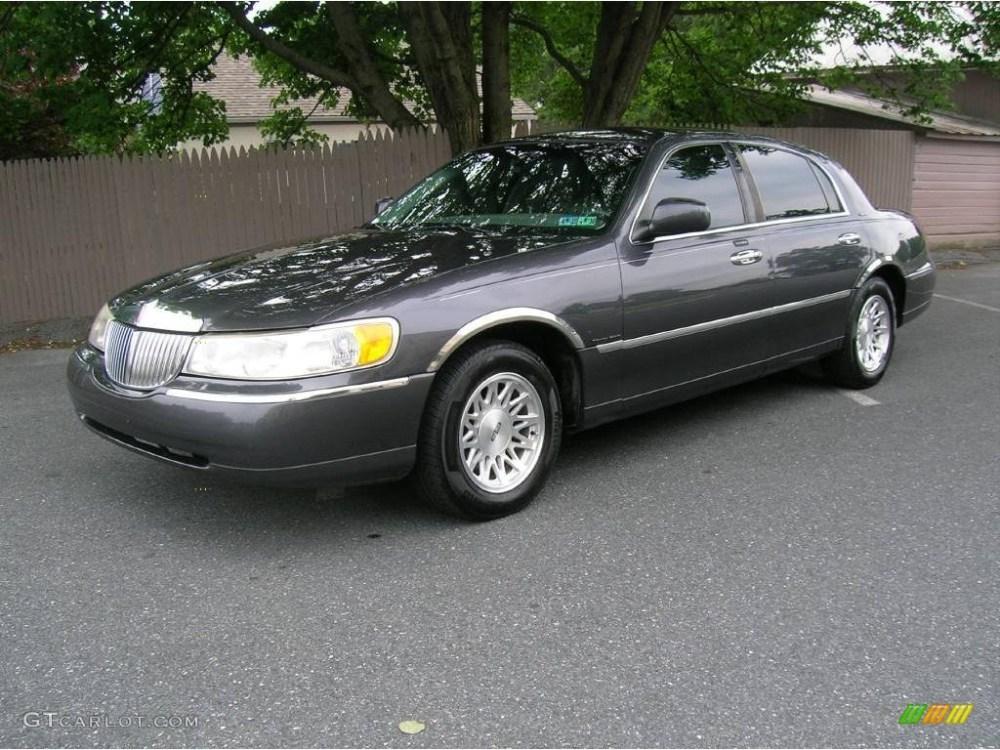 medium resolution of midnight grey metallic lincoln town car lincoln town car signature