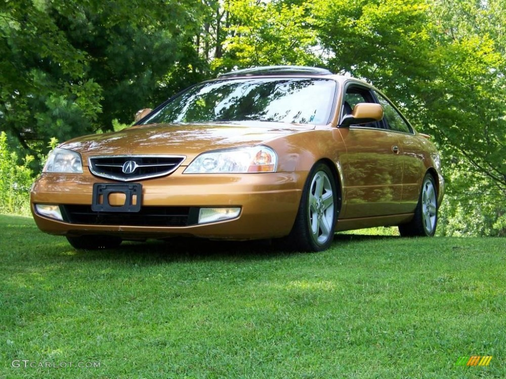 medium resolution of sundance gold metallic acura cl
