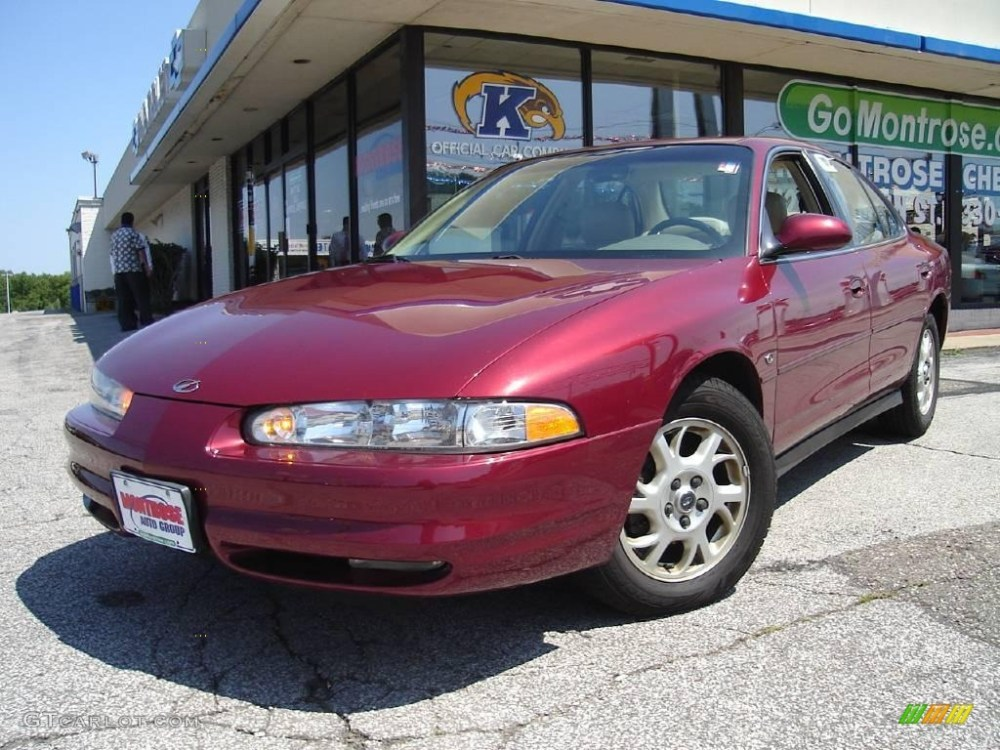 medium resolution of ruby red oldsmobile intrigue