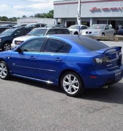 2007 mazda3 s sport sedan aurora blue mica black photo 2 [ 1024 x 768 Pixel ]