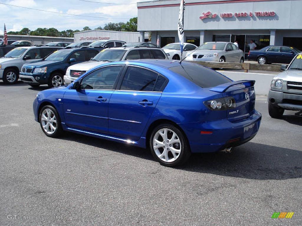 hight resolution of 2007 mazda3 s sport sedan aurora blue mica black photo 2