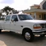 1997 Colonial White Ford F350 Xlt Crew Cab Dually 15810828 Gtcarlot Com Car Color Galleries