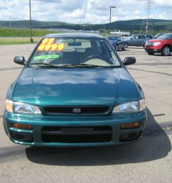 1997 impreza l wagon acadia green pearl metallic beige photo 2 [ 1024 x 768 Pixel ]
