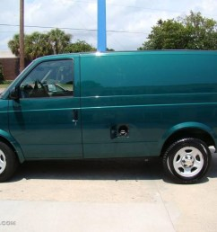 2004 astro cargo van dark forest green metallic neutral photo 5 [ 1024 x 768 Pixel ]