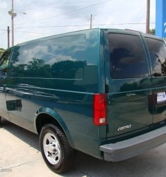 2004 astro cargo van dark forest green metallic neutral photo 6 [ 1024 x 768 Pixel ]