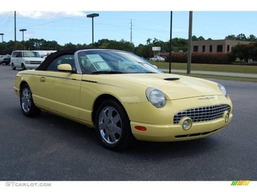 small resolution of 2002 thunderbird premium roadster inspiration yellow inspiration yellow photo 1