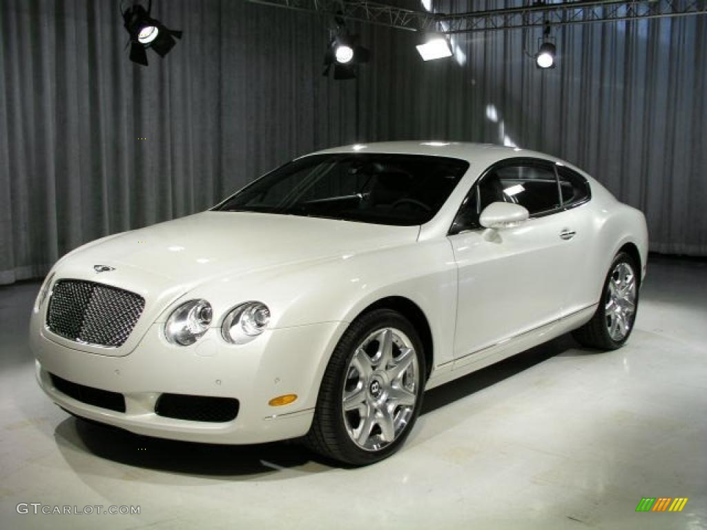 2006 Ghost White Pearlescent Bentley Continental GT