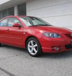 2005 mazda3 s sedan velocity red mica black red photo 1 [ 1024 x 768 Pixel ]