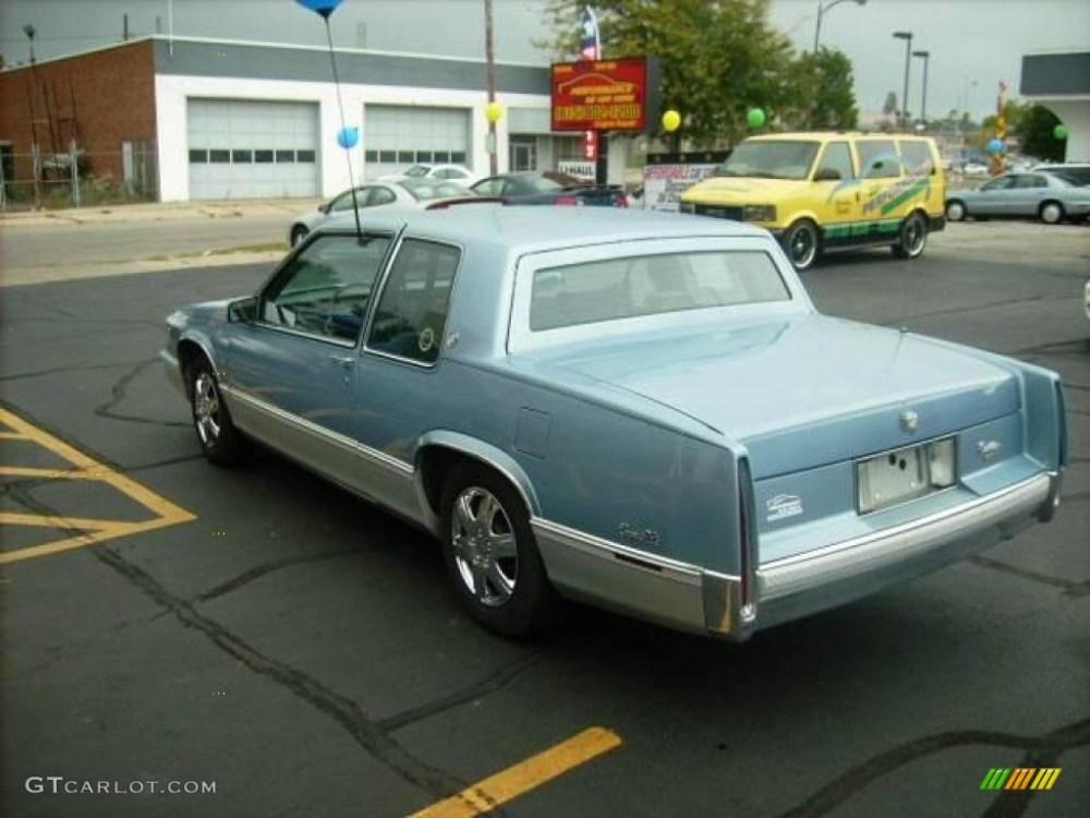 medium resolution of 1989 deville sedan light sapphire blue metallic blue photo 5
