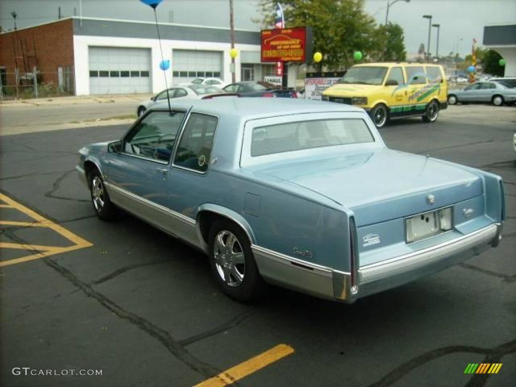 hight resolution of 1989 deville sedan light sapphire blue metallic blue photo 5