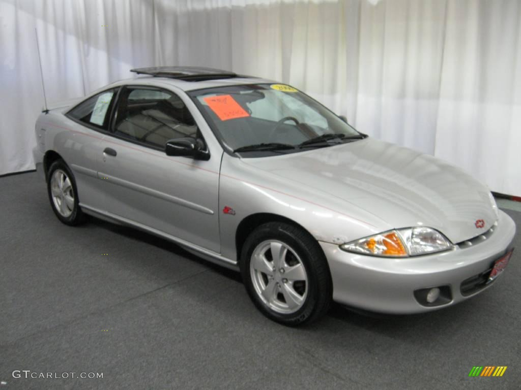 hight resolution of 2000 cavalier z24 coupe ultra silver metallic graphite photo 1