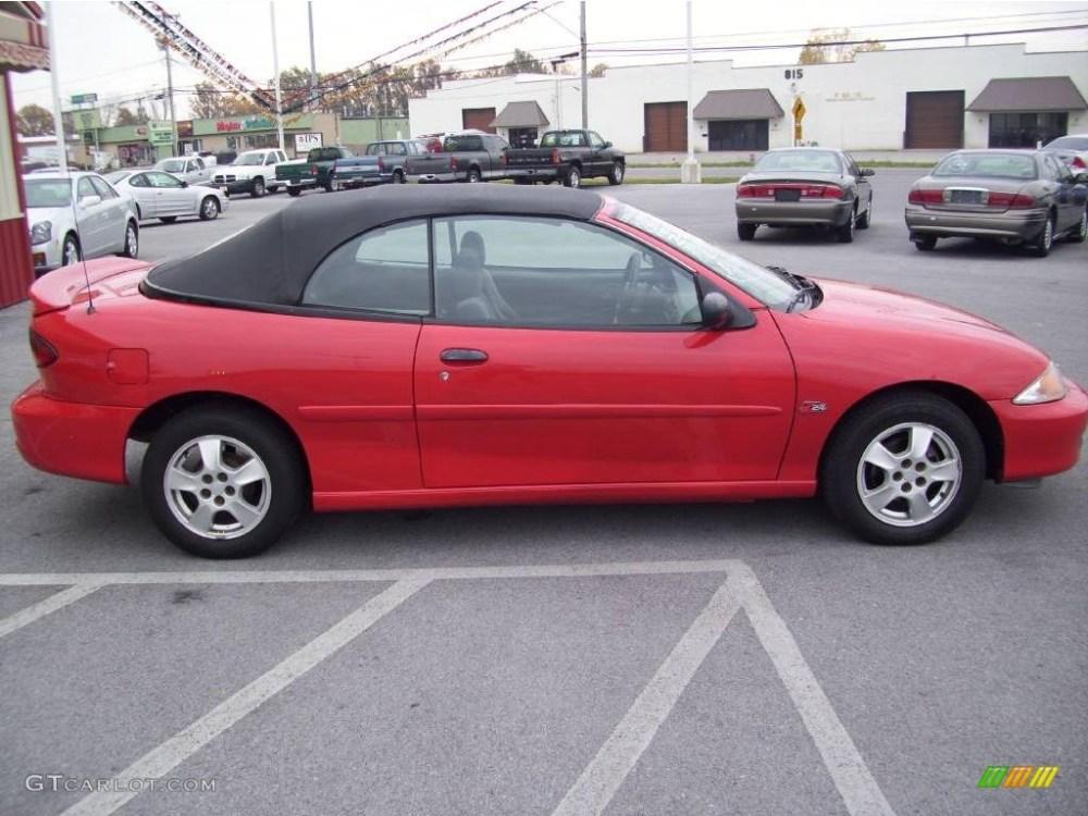 medium resolution of 2000 cavalier z24 convertible bright red graphite red photo 7