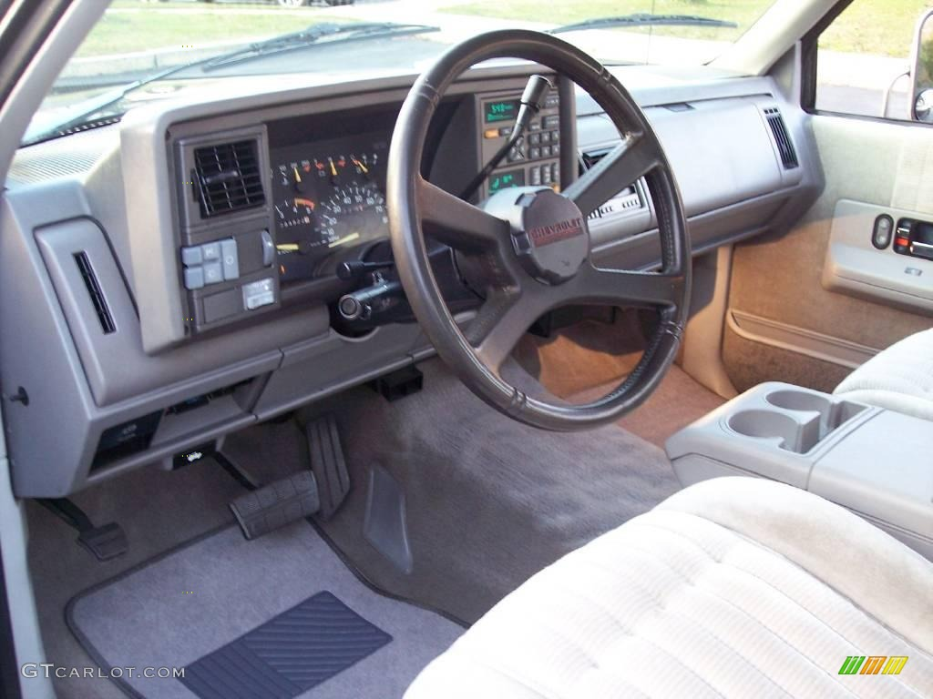 hight resolution of 1993 c k 3500 c3500 silverado crew cab black pewter gray photo