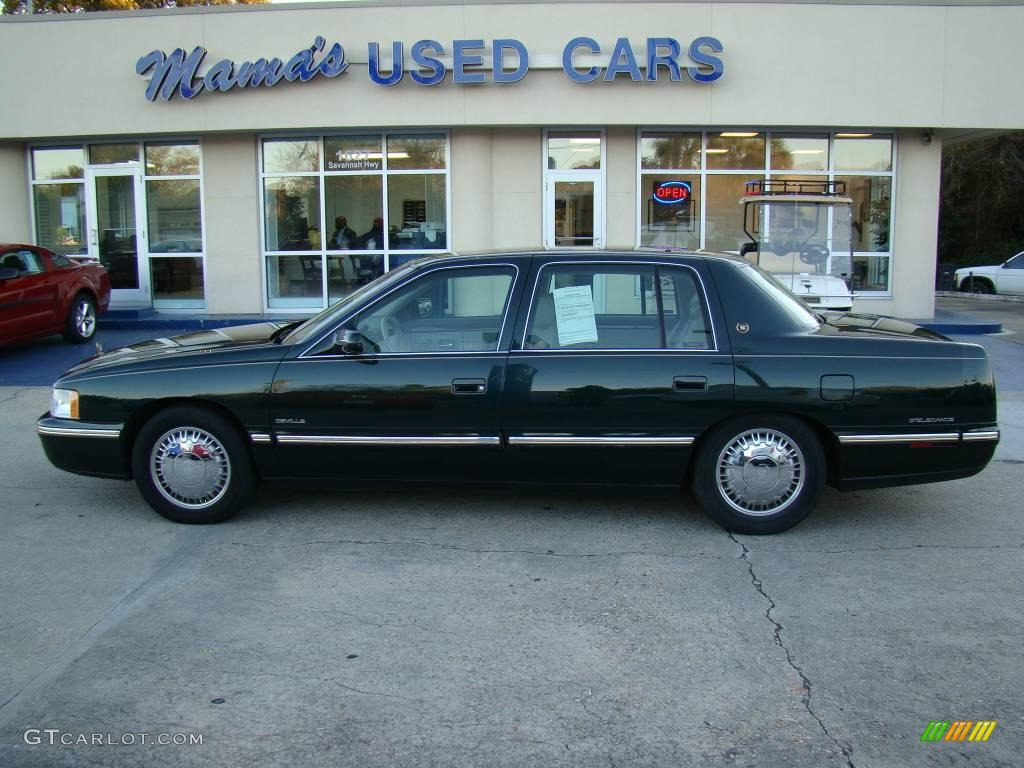 hight resolution of polo green metallic cadillac deville cadillac deville d elegance