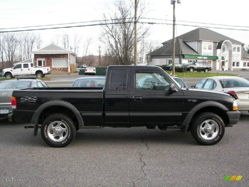 small resolution of 1998 ranger xlt extended cab 4x4 black medium graphite photo 15