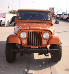 1985 cj7 4x4 orange metallic dark gray photo 3 [ 1024 x 768 Pixel ]