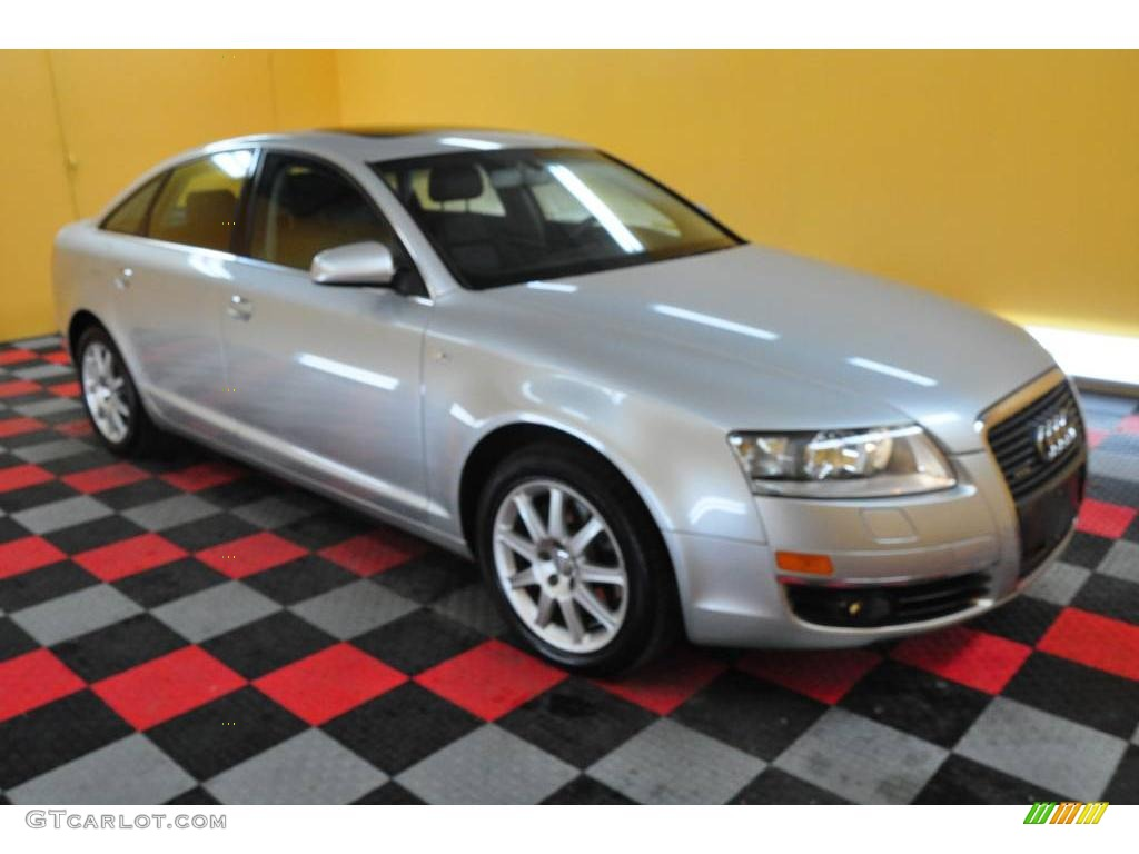 hight resolution of light silver metallic audi a6