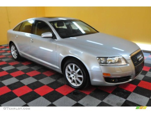 small resolution of light silver metallic audi a6