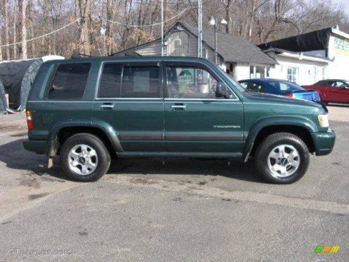 small resolution of 1999 forest green mica isuzu trooper s 4x4 24945043 photo 4