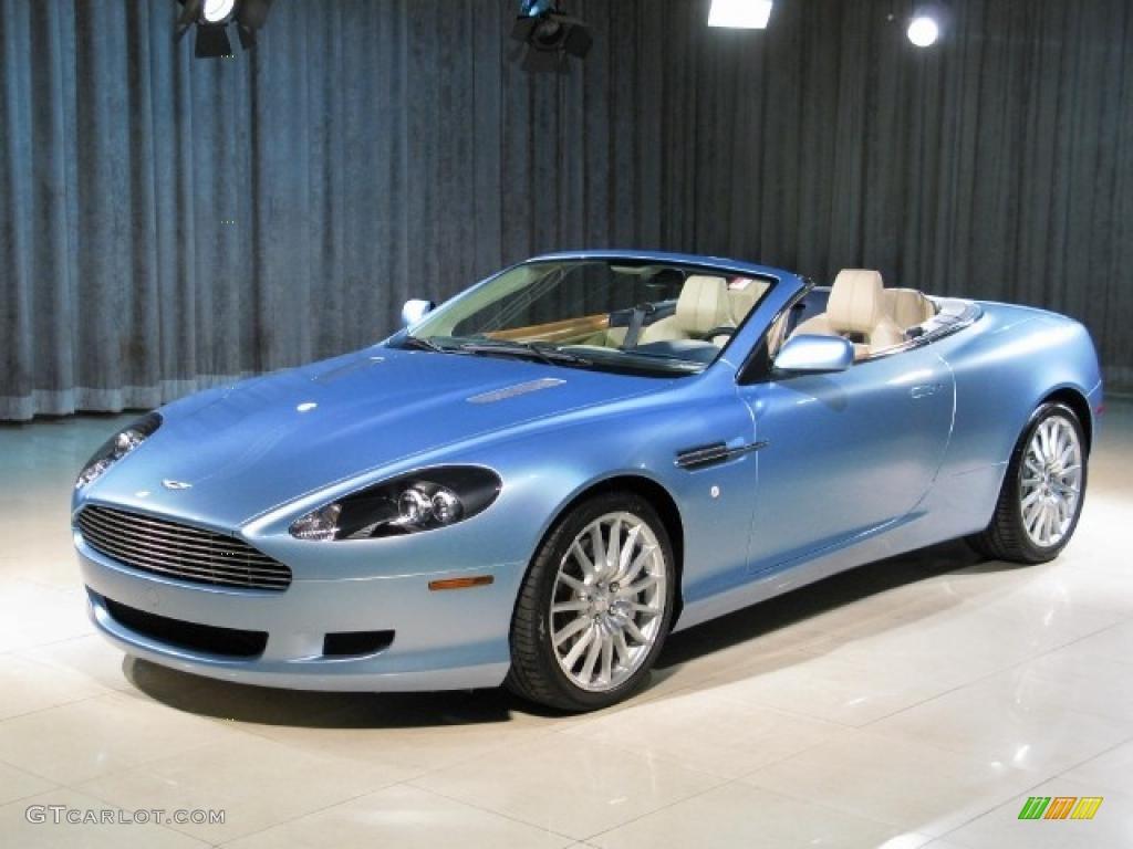 2007 Islay Blue Aston Martin Db9 Volante #25092269 Photo