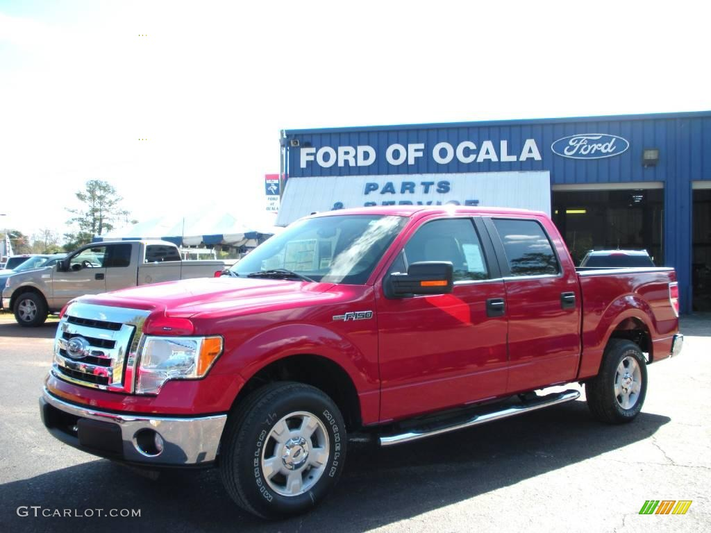 hight resolution of vermillion red ford f150 ford f150 xlt supercrew