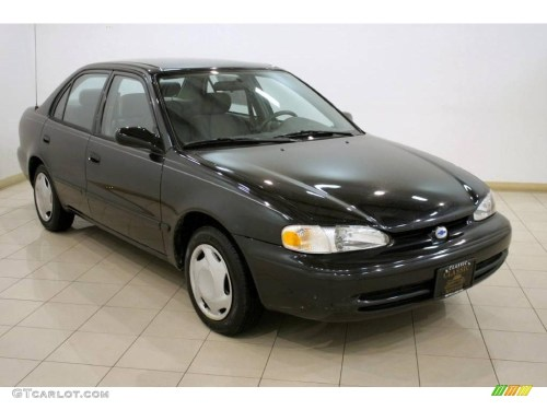 small resolution of 2001 black metallic chevrolet prizm 25352814