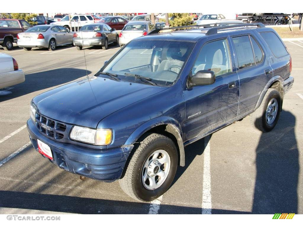 hight resolution of 2002 rodeo ls 4wd clipper blue metallic gray photo 1