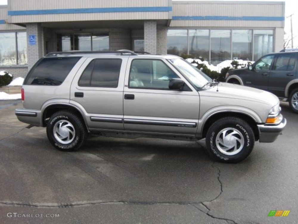 medium resolution of light pewter metallic chevrolet blazer