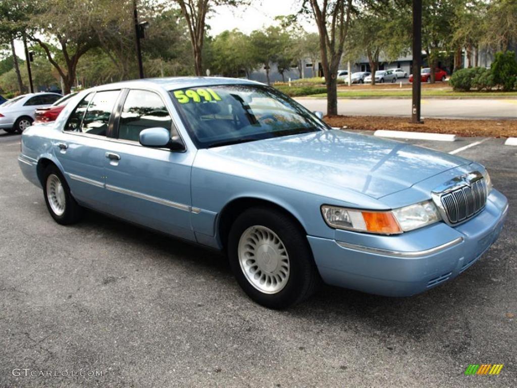 2000 Mercury Grand Marquis Blue
